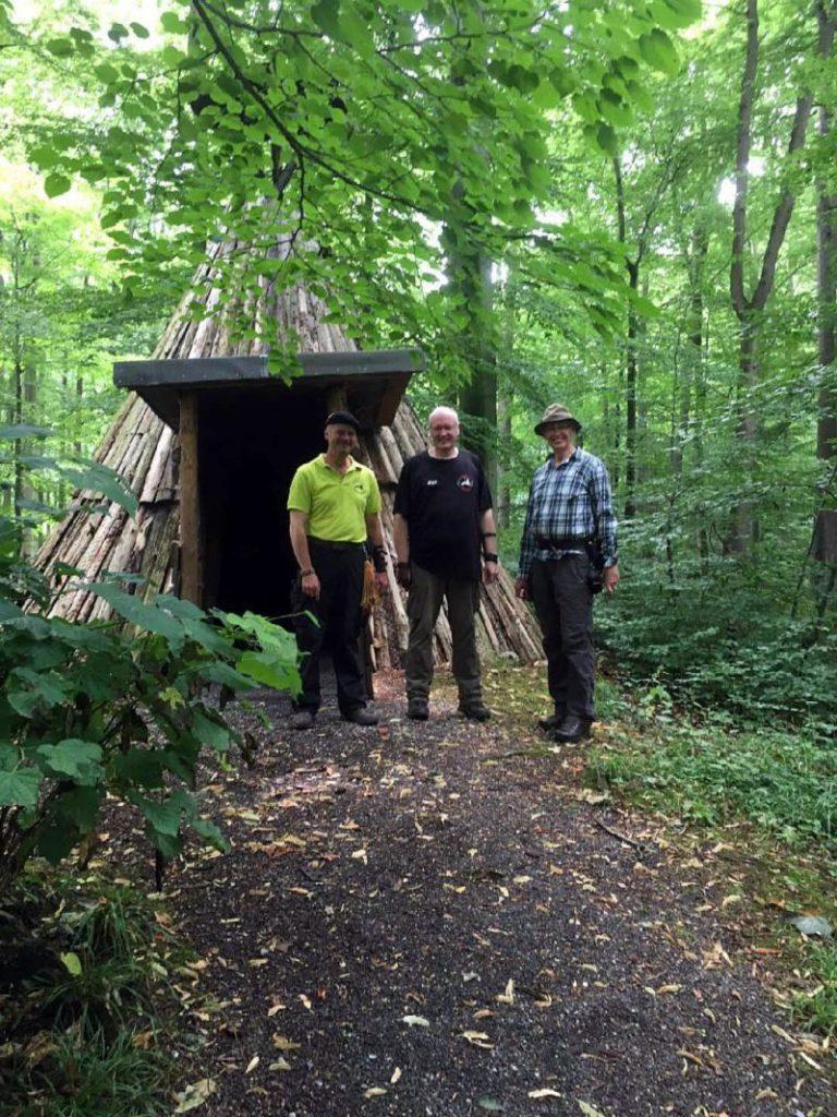 """Die """"Bordergang"""" (Oli, Uwe und Gerd) bei den Gentlemen Archers"""